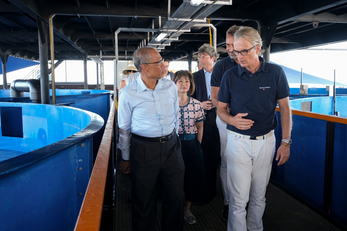 Smart Floating Fish Farm launch