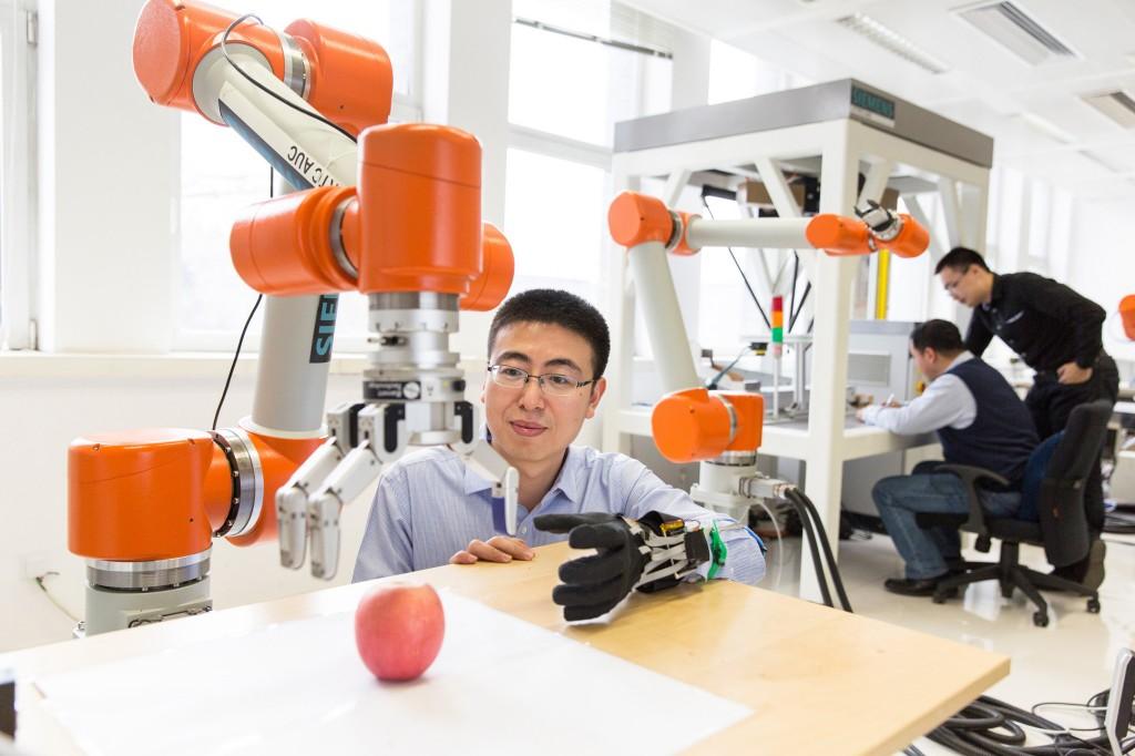 Ein Händchen für Roboter