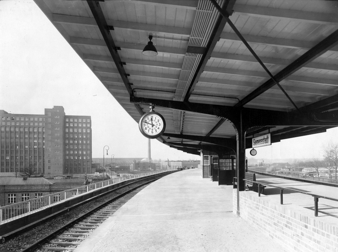 Simple elegance – the Siemensstadt train station, 1929