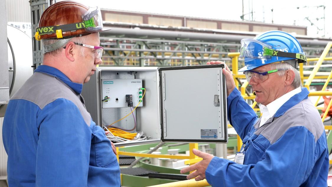 SITRANS TO500 verlängert die Standzeit des Katalysators im Reaktor