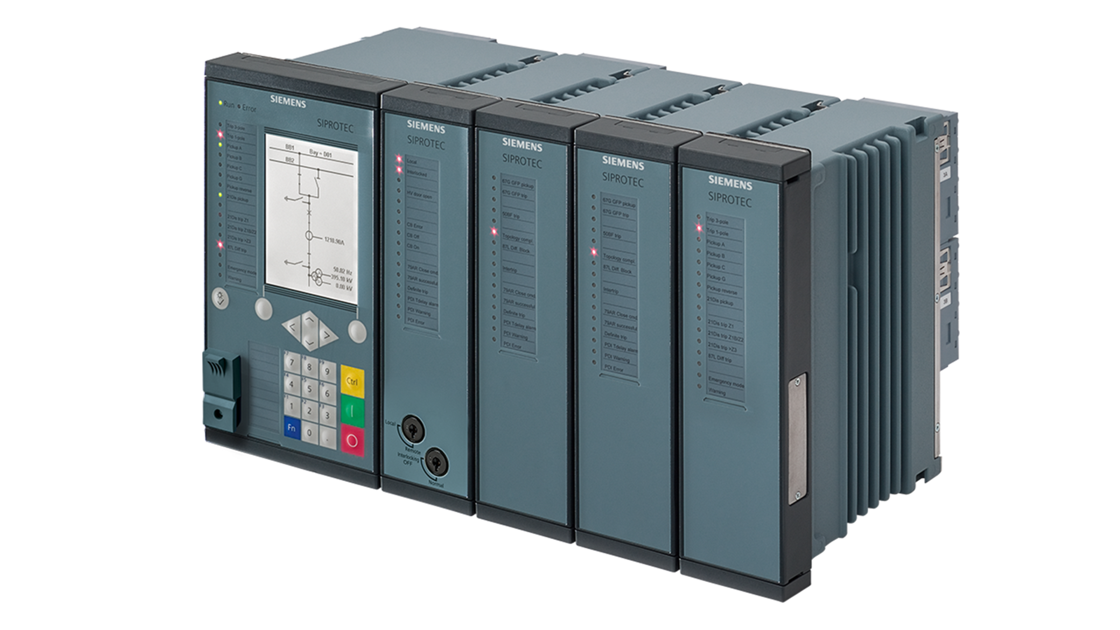 Busbar protection – SIPROTEC 7SS85 | Busbar protection | Siemens