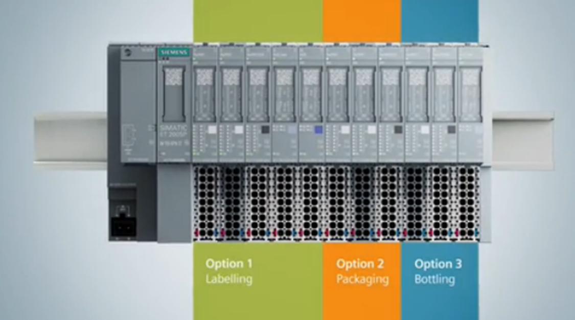 SIMATIC ET 200SP option handling