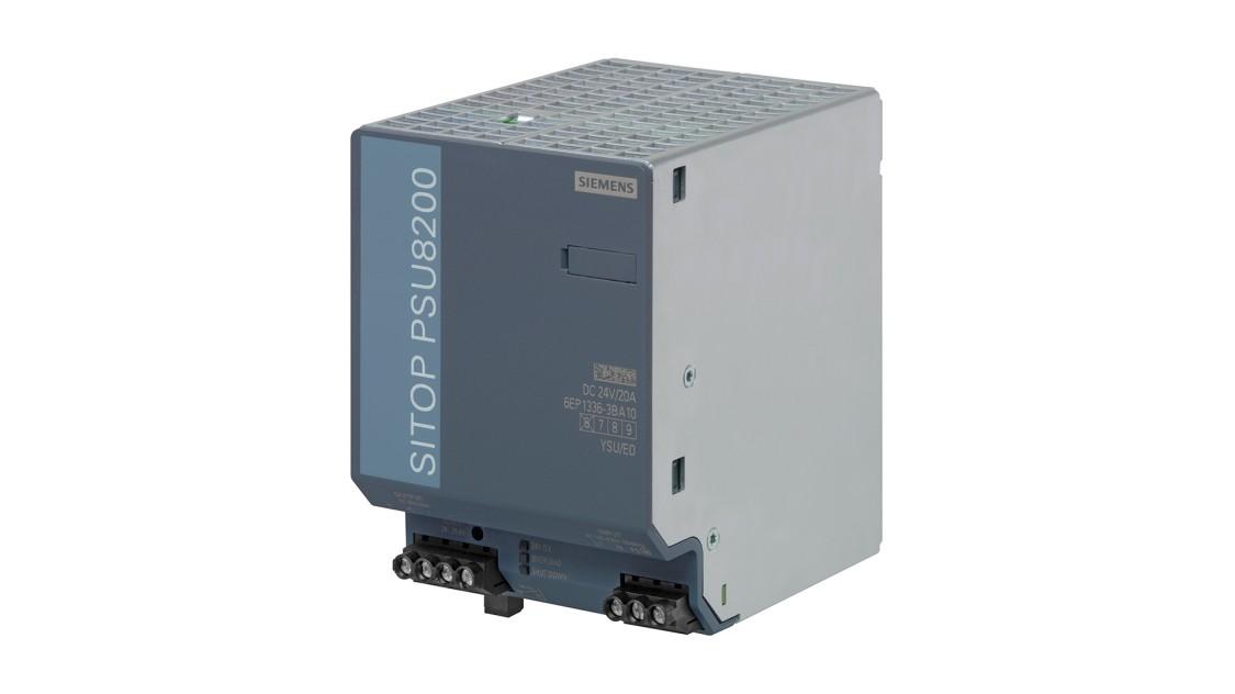 SITOP PSU8200(単相、DC 24 V/20 A)の製品画像
