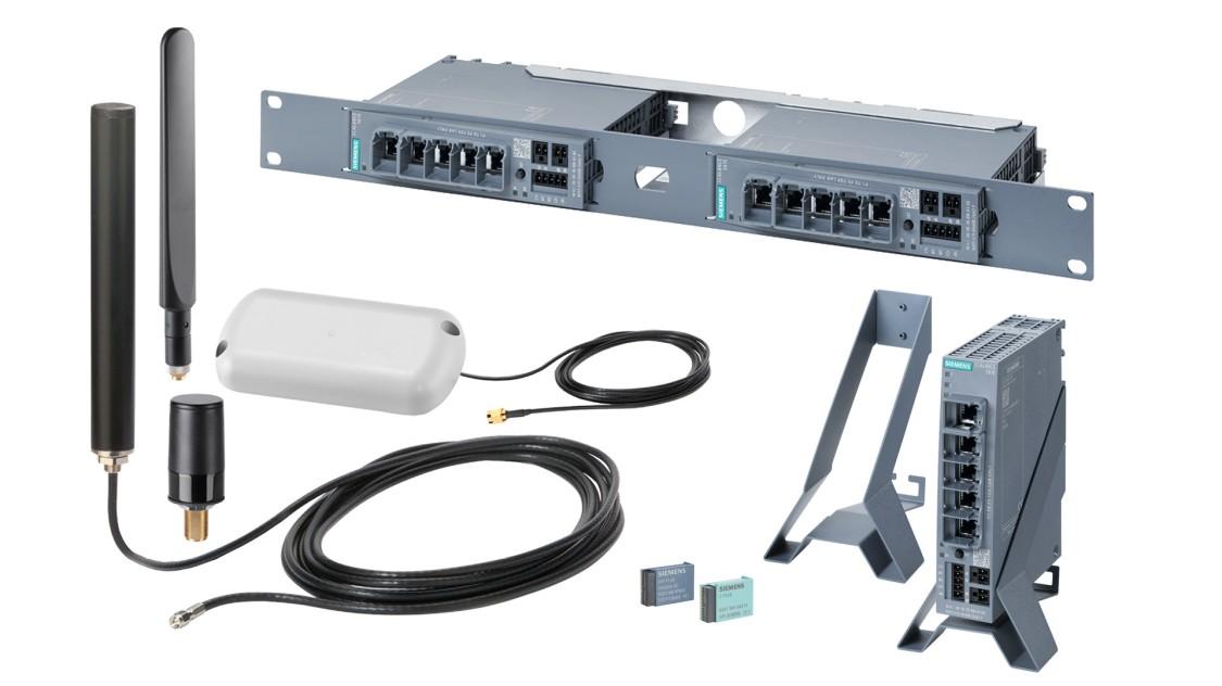 Abbildung von Zubehör für Remote Networks