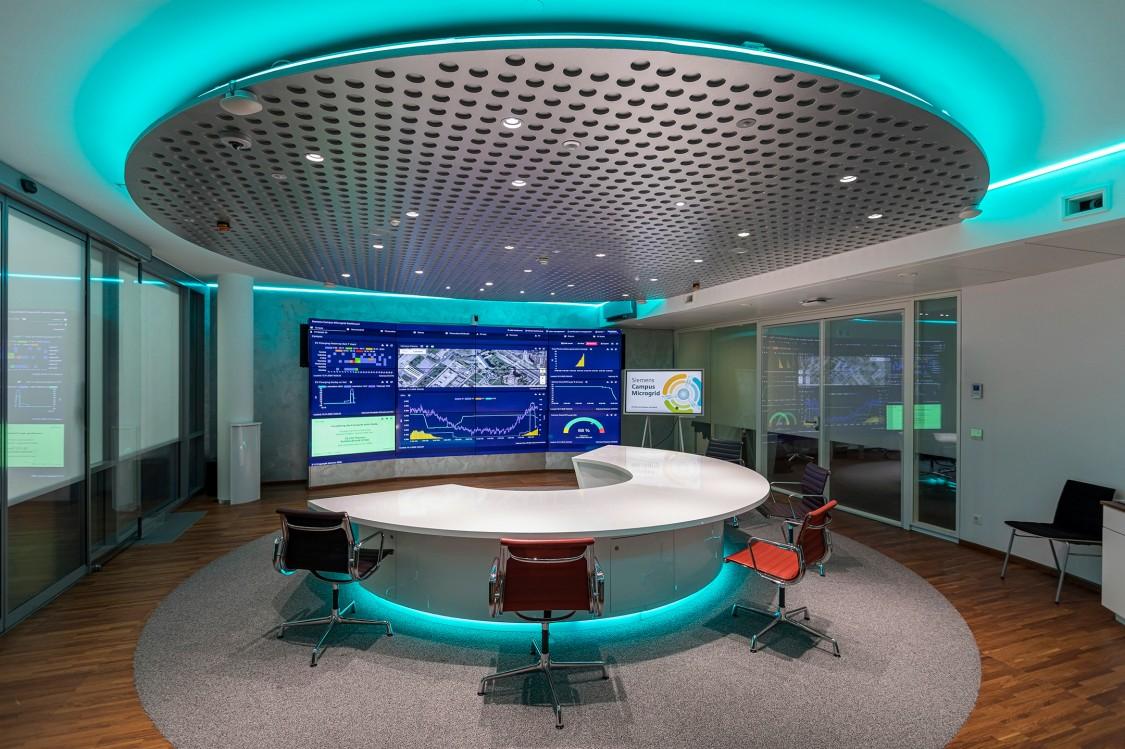 Eine Vielzahl der Messdaten werden im Visitor & Advanced Service Center visualisiert.