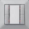 Кнопка GAMMA instabus – алюминиевый металлик