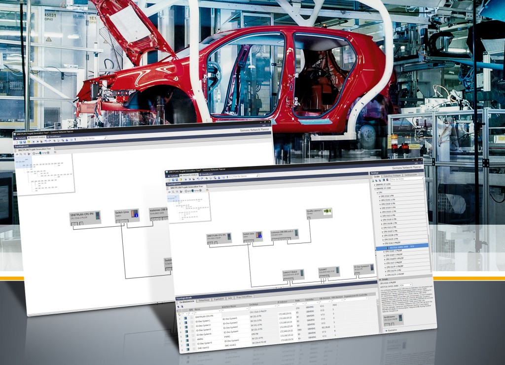 Software update for planning and simulation tool