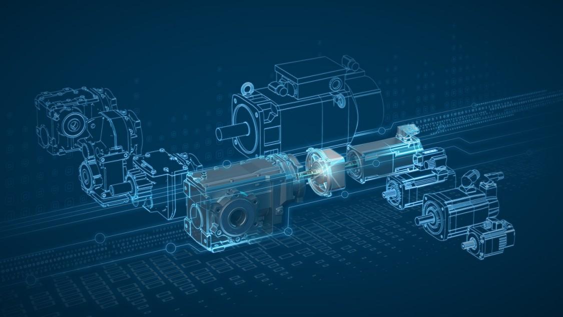 Key Visual Getriebe mit Motoradapter