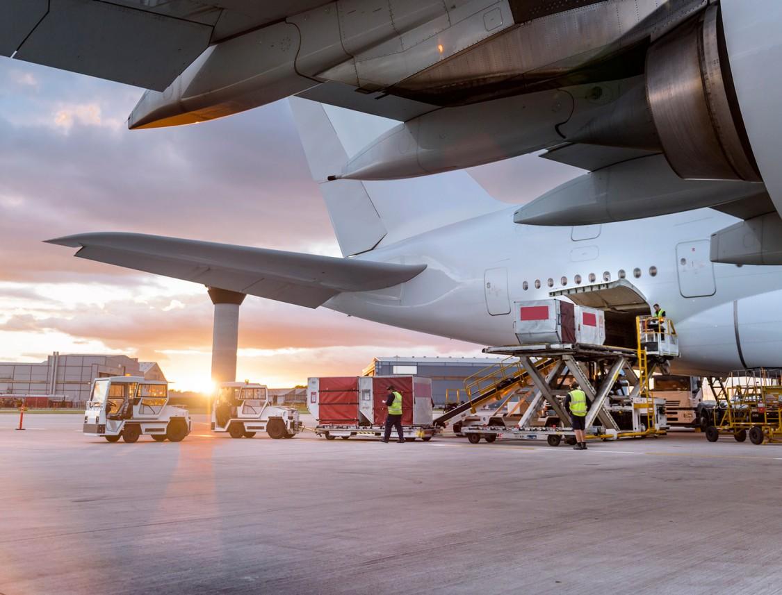Air-freight demands efficient handling operations