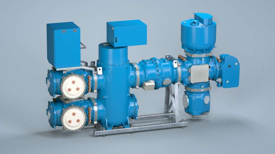 Gas-insulated switchgear 8VN1 Blue GIS