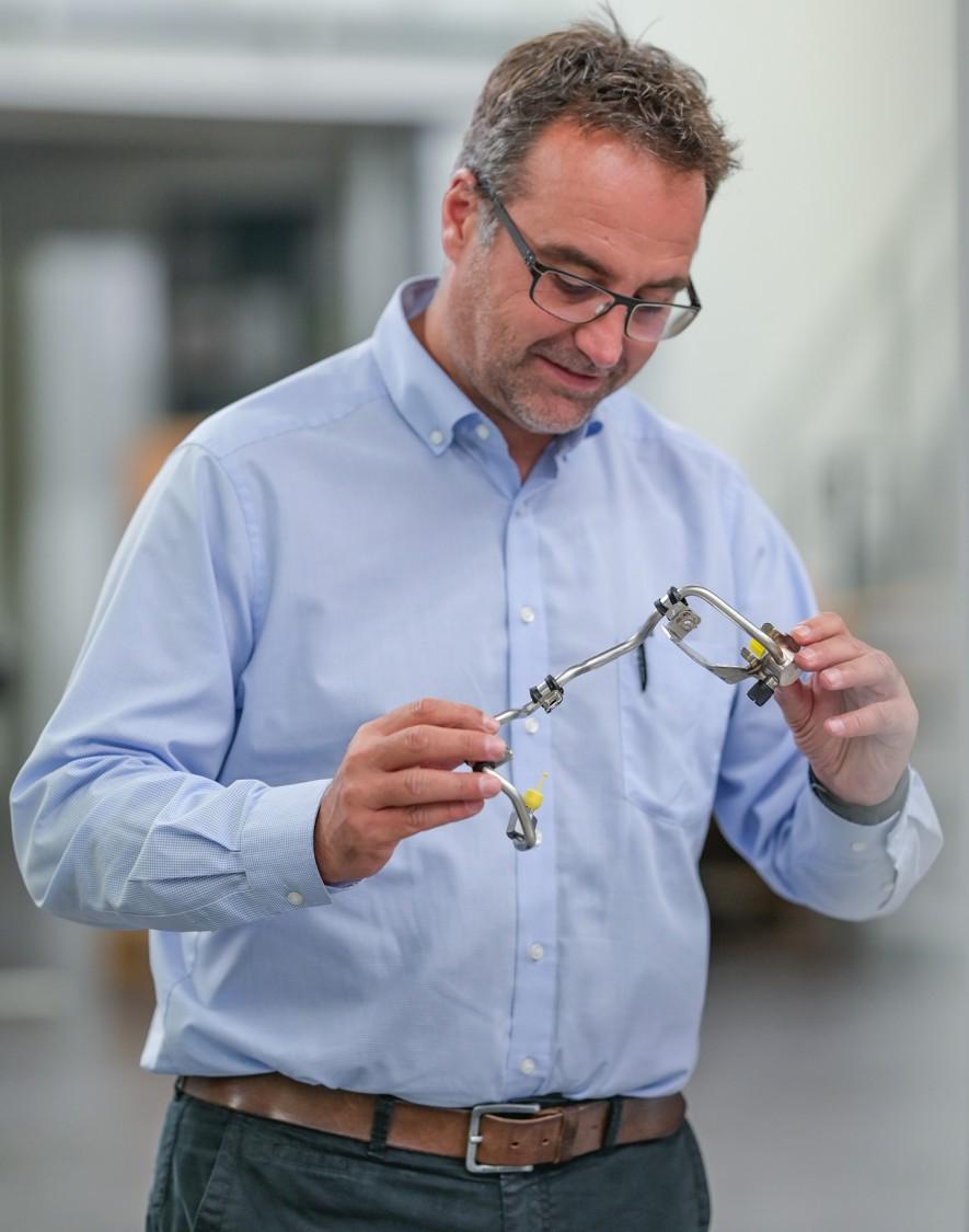 Bild Jörg Pfeiffer, geschäftsführender Gesellschafter bei der Riester GmbH