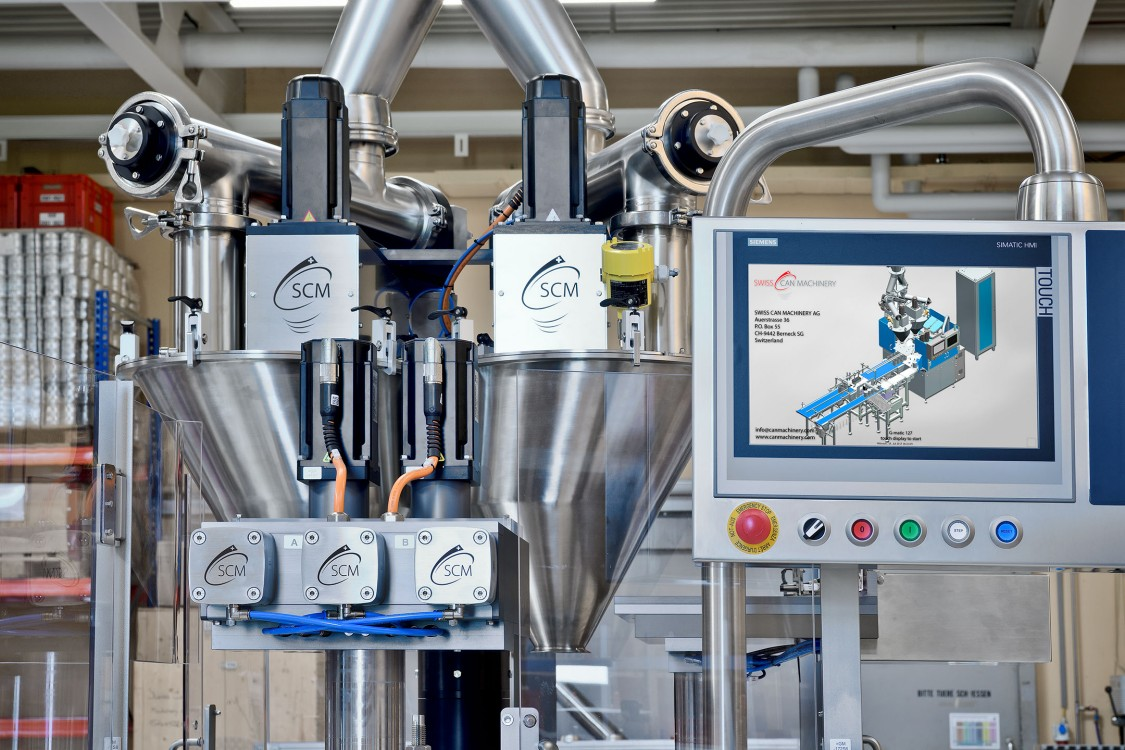 Development at Swiss Can Machinery is efficient, thanks to the combination of the TIA Portal with Multiuser Engineering and the NX 3D CAD system.