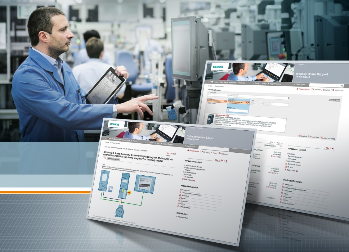 Siemens Industry Online Support