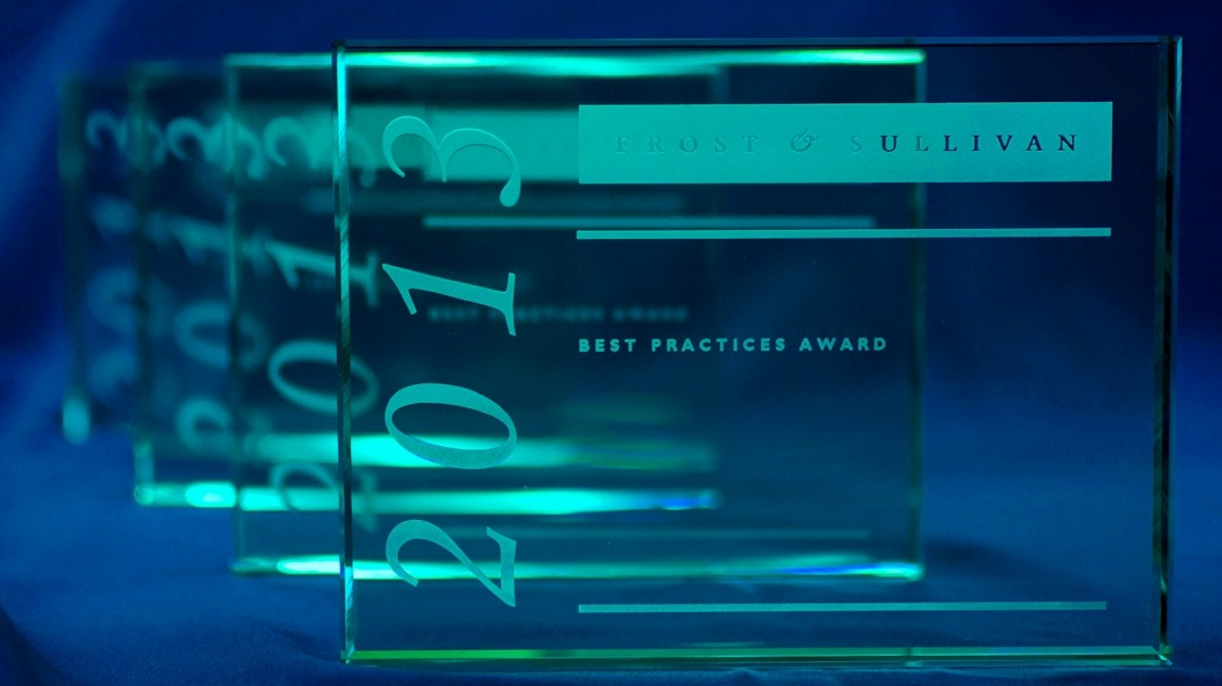 European Frost & Sullivan market leadership award