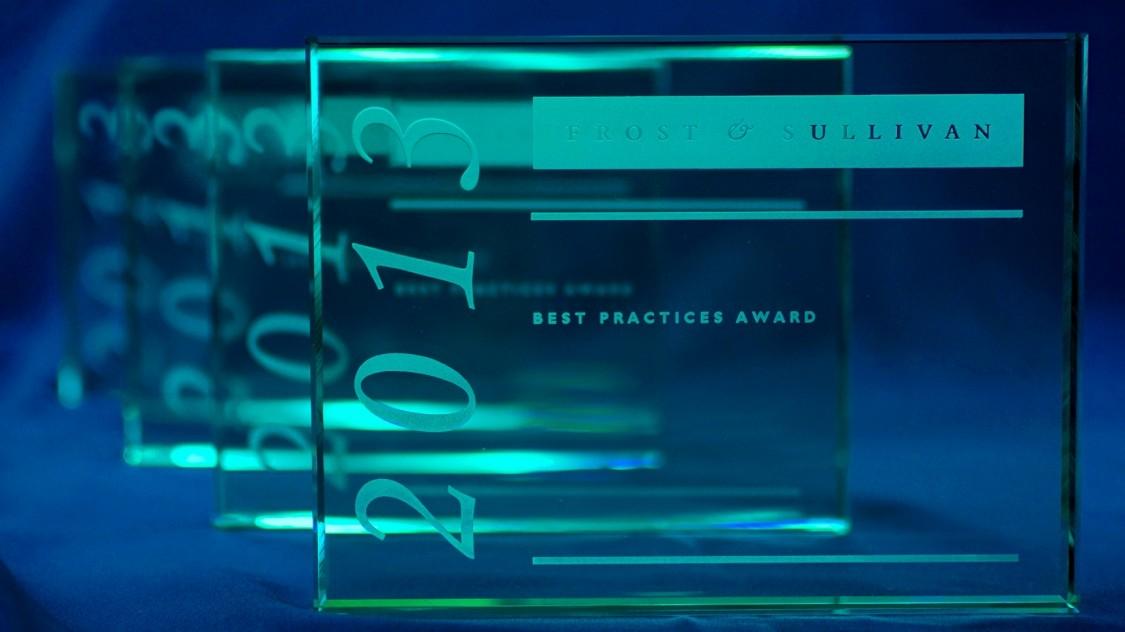 European Frost & Sullivan market leadership award