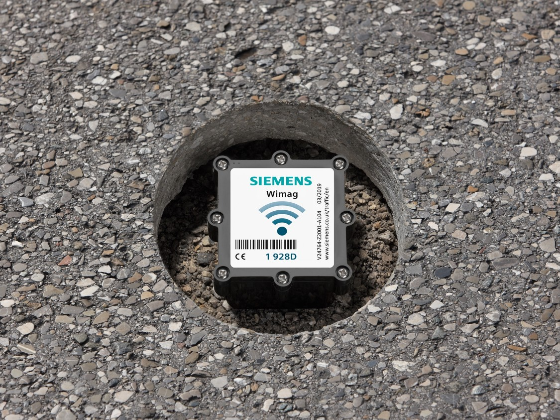 Siemens WiMag embedded in road
