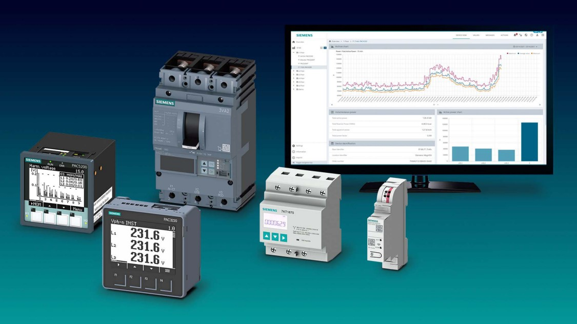 SENTRON measuring devices and power monitoring