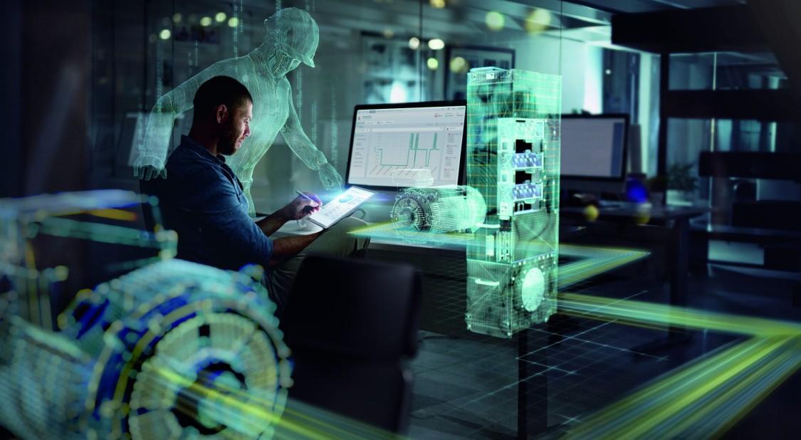 SIDRIVE IQ - Bild von digitalisierter Antriebstechnik