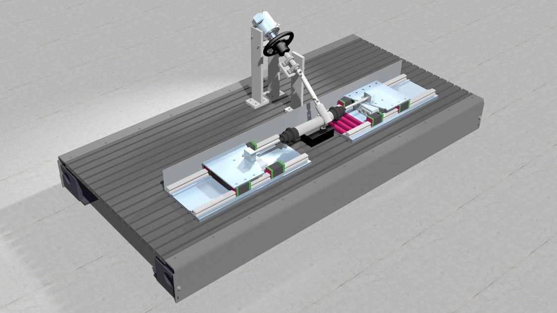 Visualisierung - Linearmotorenprüfstand