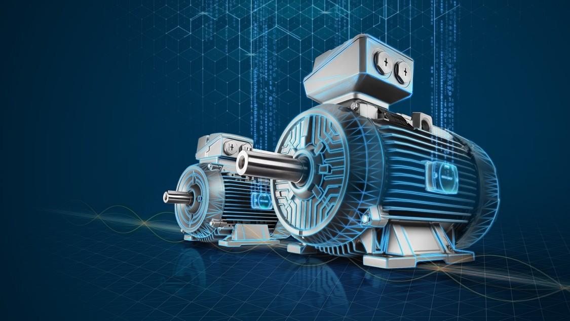 SIMOTICS Niederspannungsmotoren mit SIMOTICS CONNECT 400