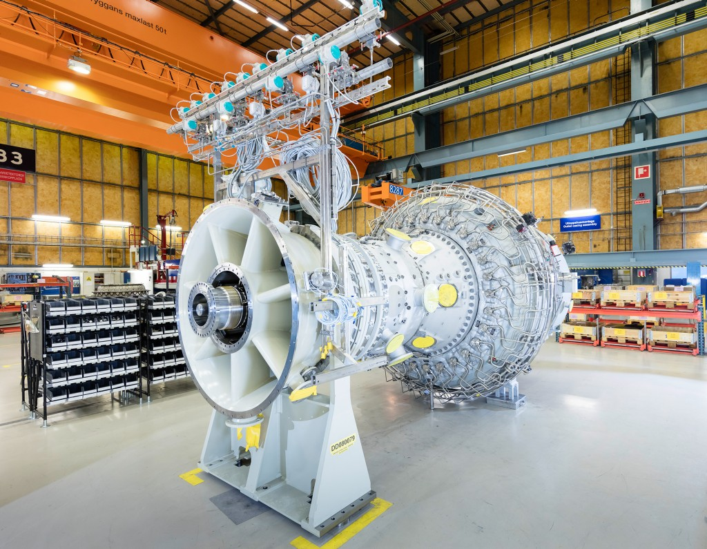 Siemens gas turbines for China