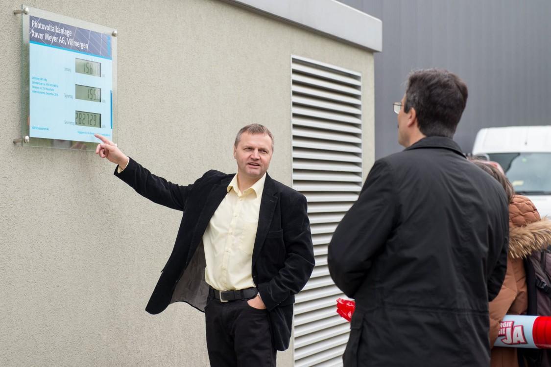 Bernhard Guhl interessiert sich für Energiethemen