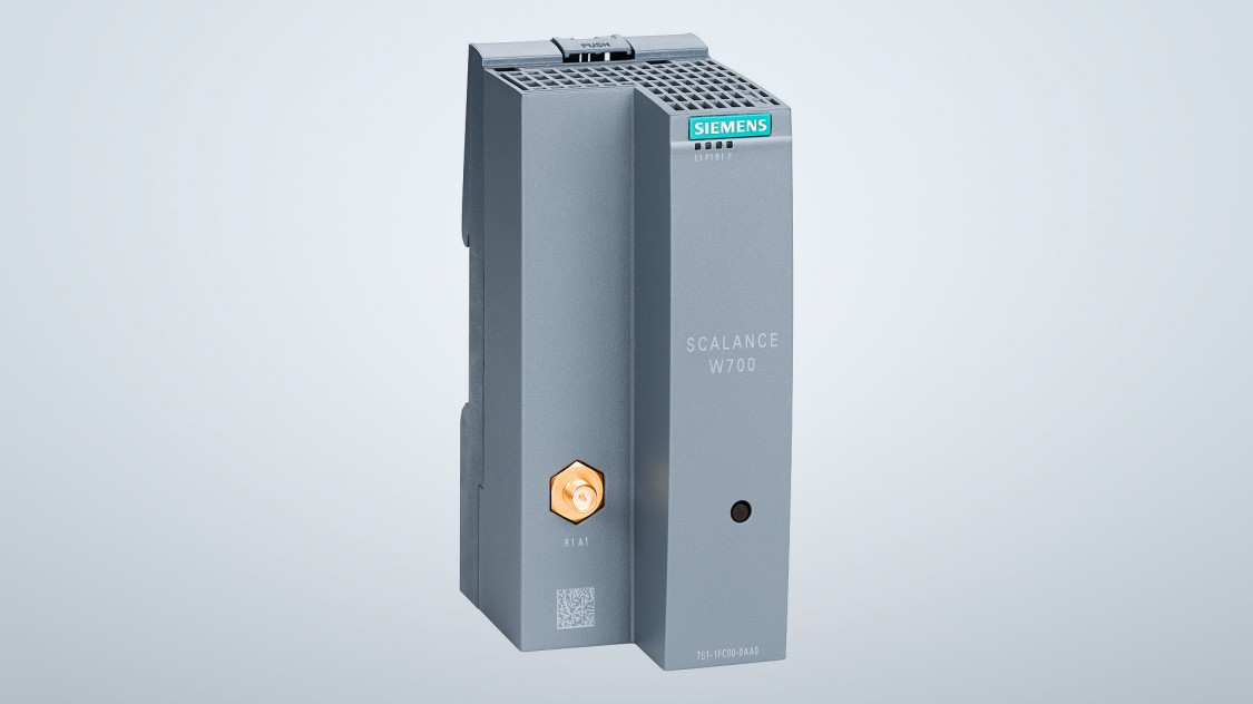 S přístupovými body SCALANCE W760 a klientskými moduly SCALANCE W720 můžete snadno a hospodárně implementovat bezdrátové sítě strojů.  Díky praktickému designu ve formátu SIMATIC je v řídicí skříni vyžadován minimální prostor pro instalaci těchto komponent, které jsou v souladu se standardem IEEE 802.11n a datovými rychlostmi až 150 Mbps.