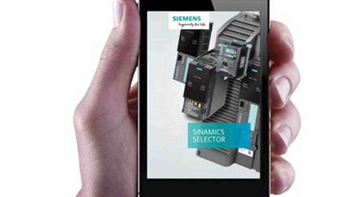 Aplikace: SINAMICS SELECTOR