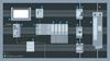 控制柜中具体组件的功能以及相互作用的示意图。