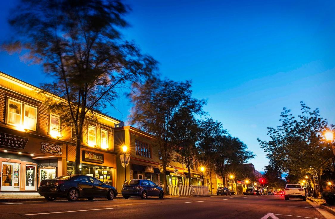 Hauptstraße in Fredericton, New Brunswick