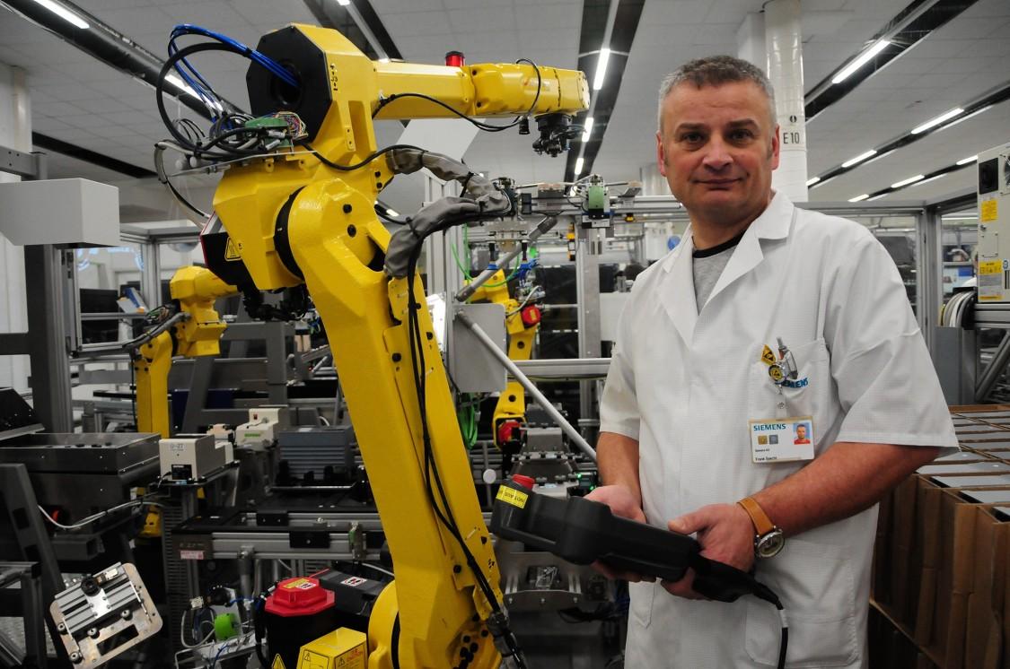 Roboter im Messgerätewerk Berlin