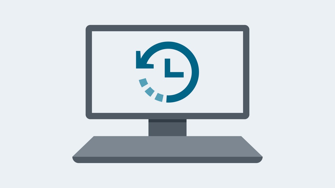 Time savings icon