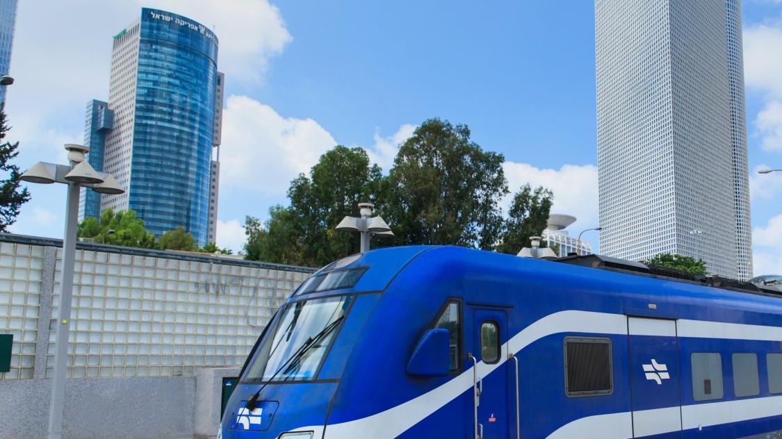 Israel Railways (ISR) – single deck push pull train Viaggio Low Floor