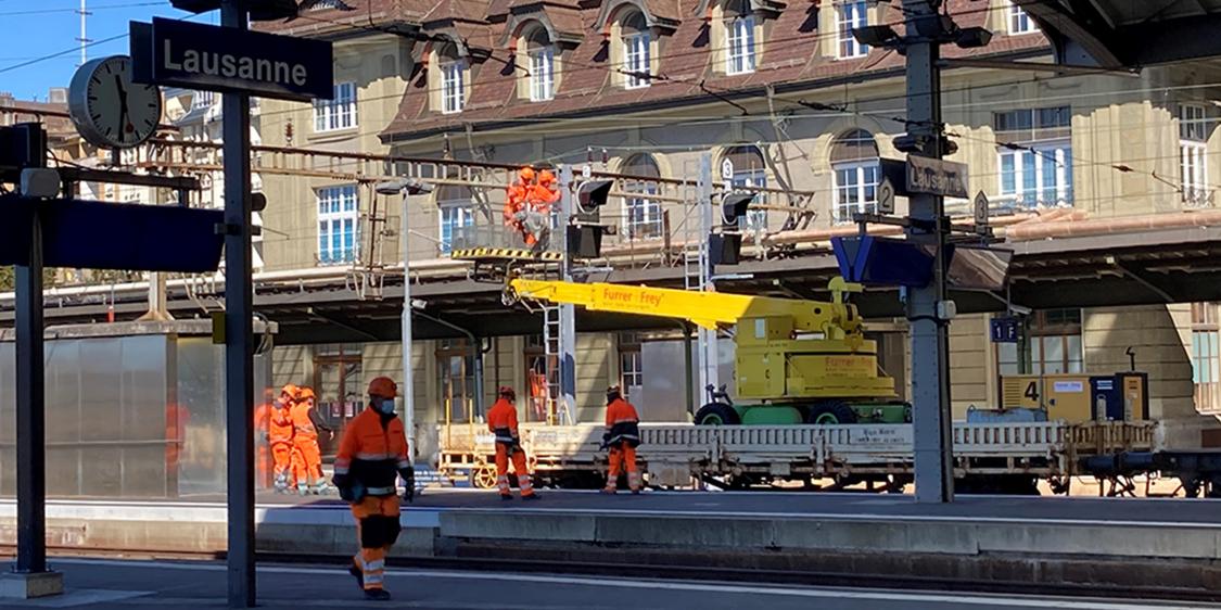 Bahnhof Lausanne