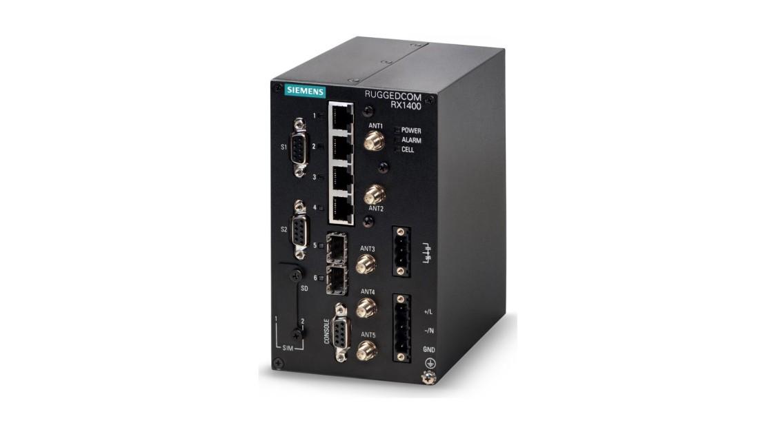 RUGGEDCOM RX1400 mit CloudConnect