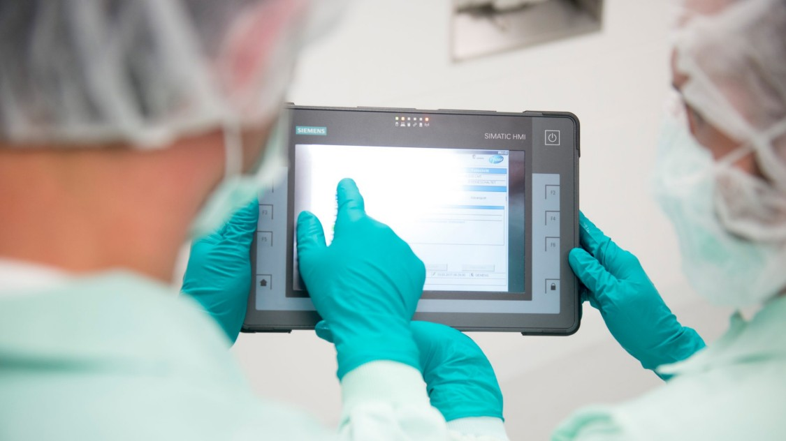 Biopharmaceutical HMI solutions: SIMATIC HMI
