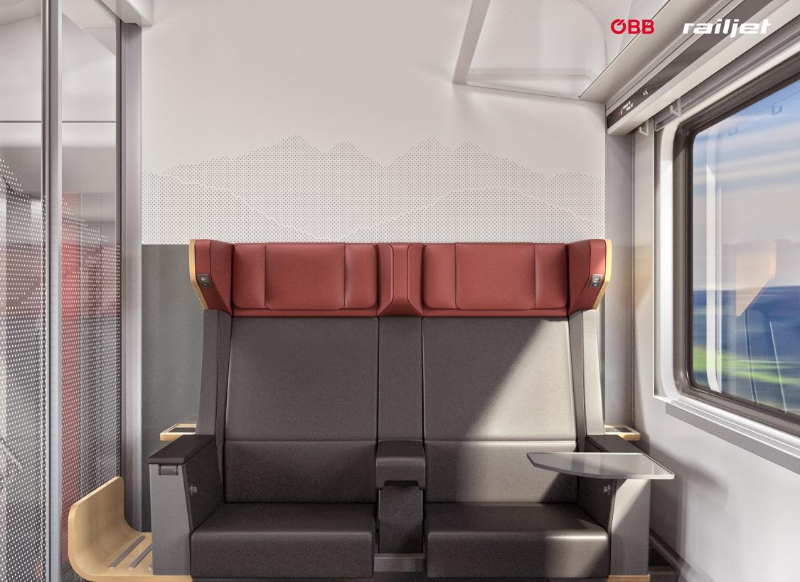 Die Viaggio Next Level Garnituren - Business Class Abteil