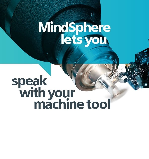MindSphere позволяет вам общаться с вашим обрабатывающим станком