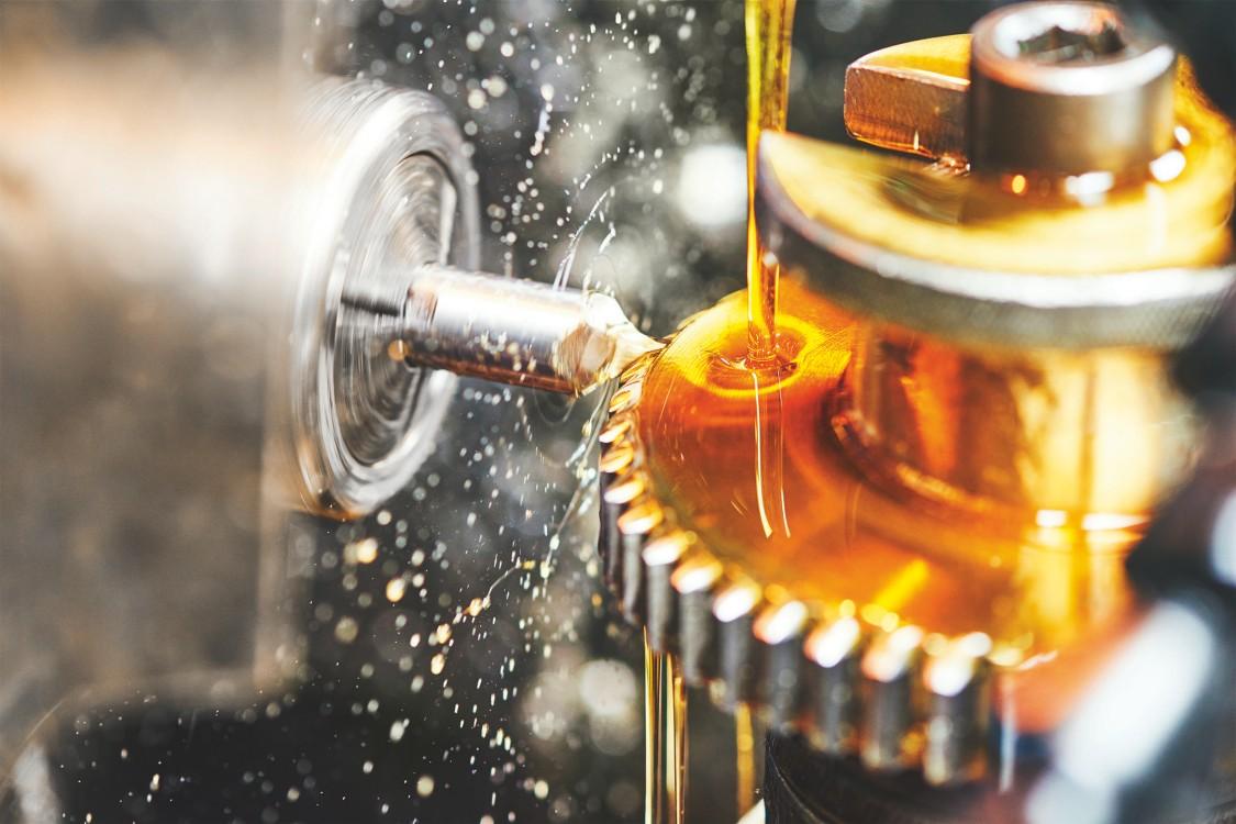 Brandschutz an Werkzeugmaschinen