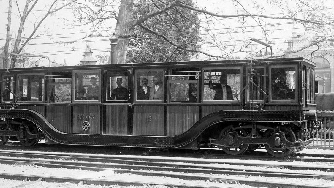 Untergrundbahnwagen