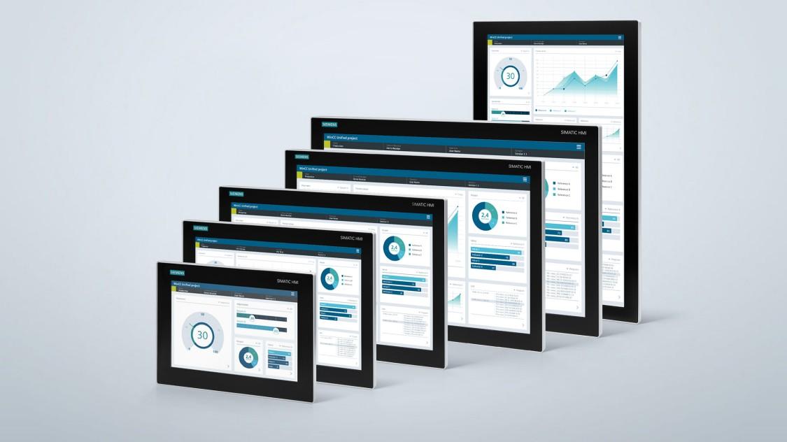 SIMATIC 工业显示器和瘦客户机