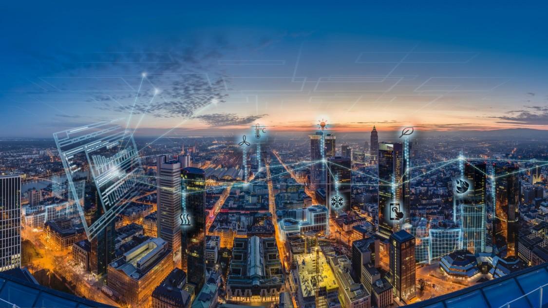 Systeme, Lösungen, Produkte und Services für Gebäude