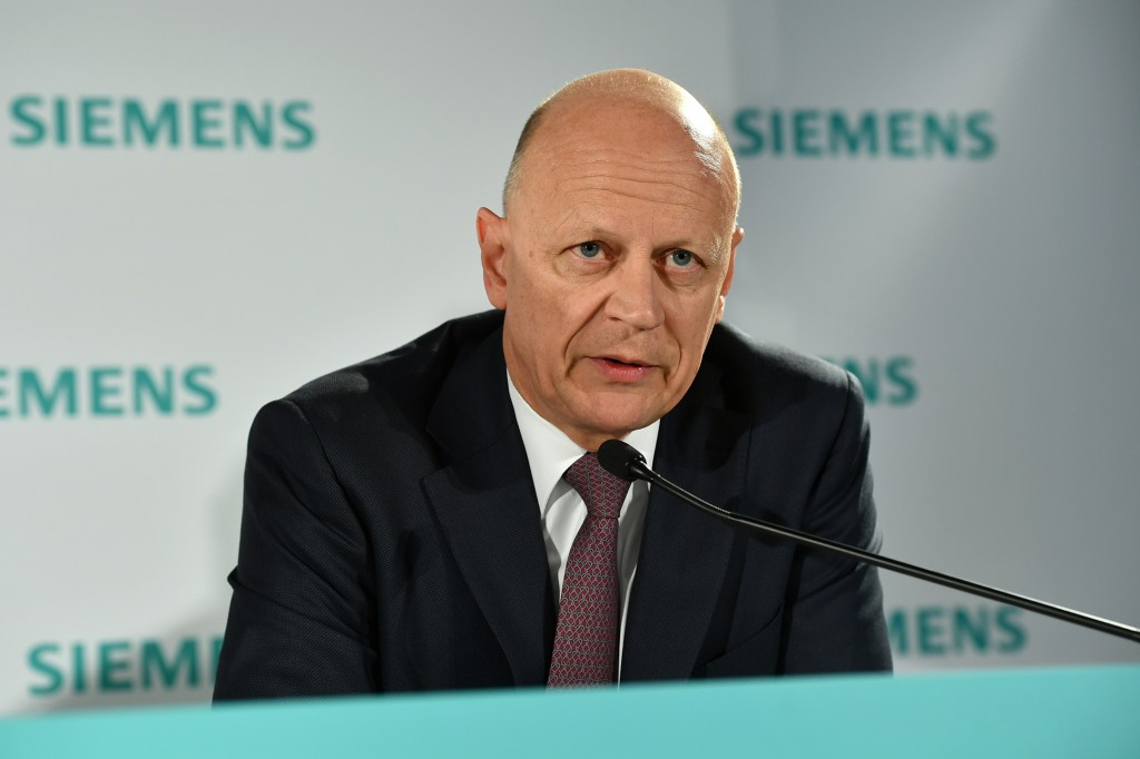 In the picture: Ralf P. Thomas, Chief Financial Officer and member of the Managing Board of Siemens AG.