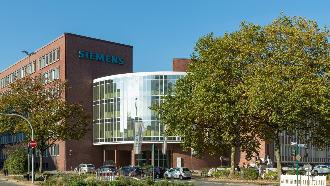 Siemens Niederlassung Ruhr, Standort Essen