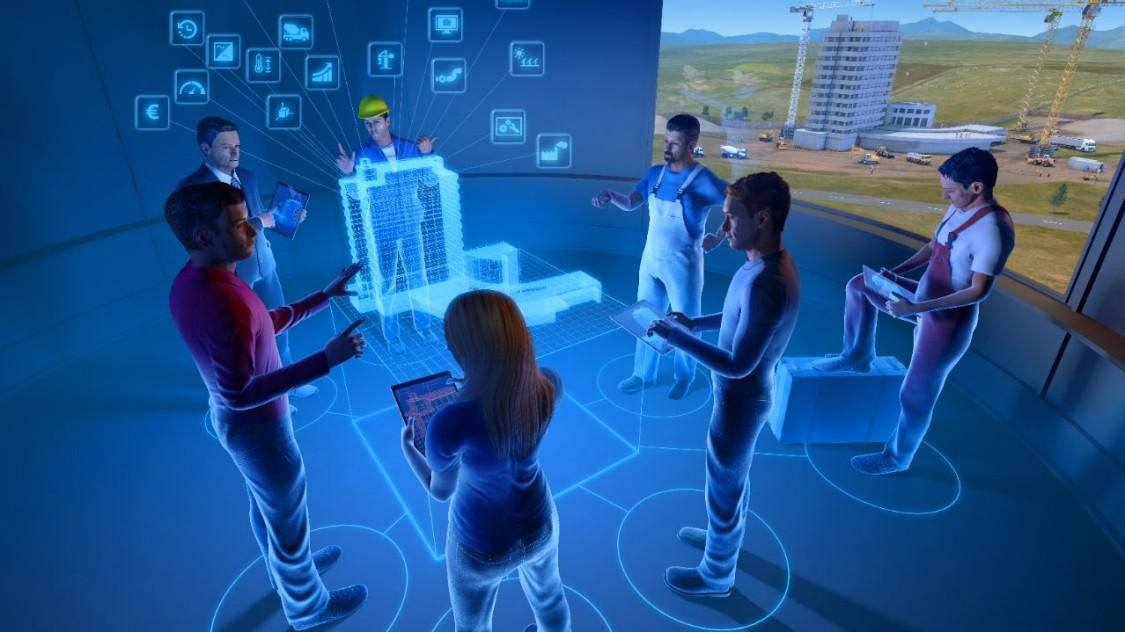 Digitale tweeling van Siemens Building Technologies