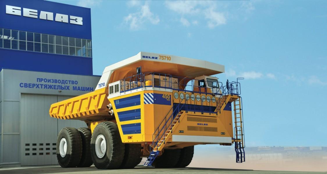 Система электропривода для крупнейшего в мире грузовика