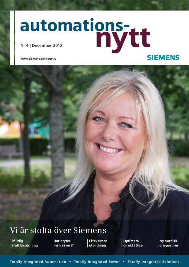 Automationsnytt Nr 4 | December 2012
