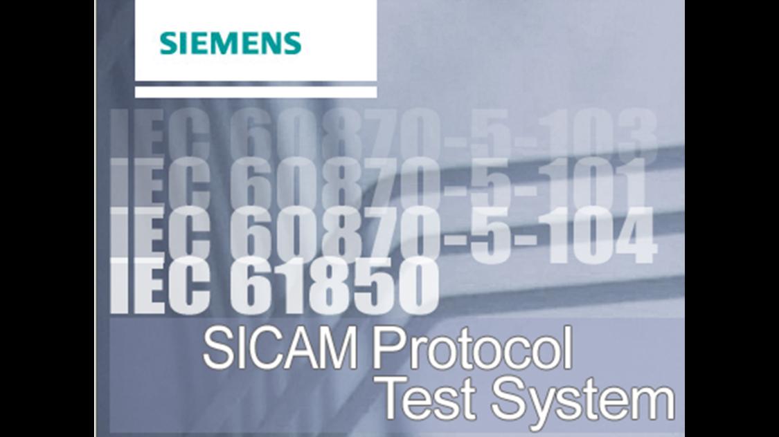 Protokolltestsystem – SICAM PTS