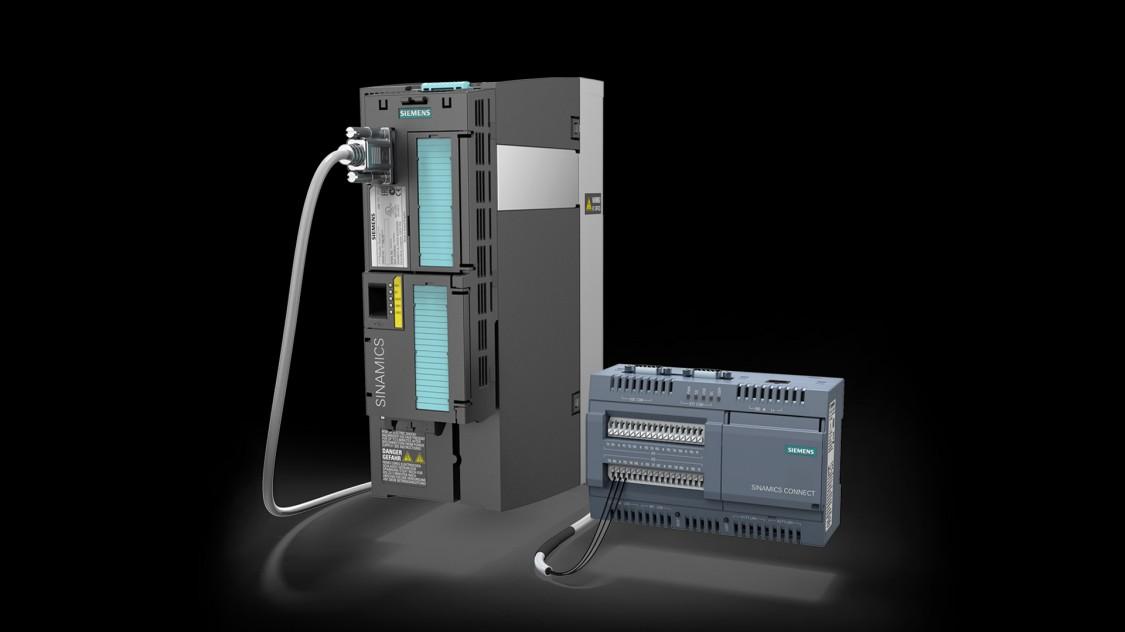 Produktbild SINAMICS-LV-Umrichter und SINAMICS CONNECT 300