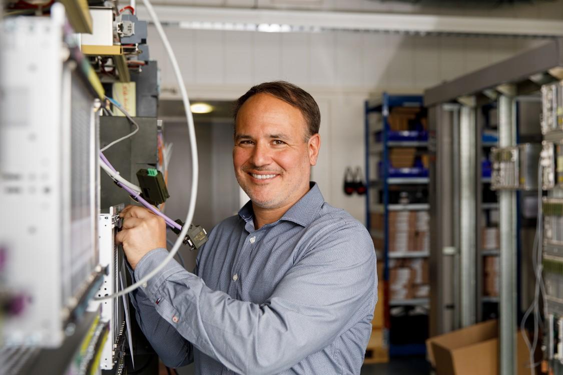 Portraitfoto Roman - Siemens Mobility Schweiz Kampagne